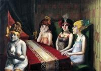 1921, Otto Dix : Le Salon I