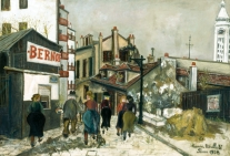 1924, Maurice Utrillo : La Maison Bernot