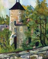 1924, Suzanne Valadon : Tour du Château de Saint-Bernard (Rhône)