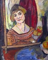 1927, Suzanne Valadon : Autoportrait