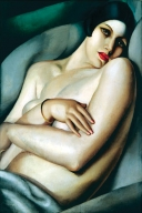 1927, Tamara de Lempicka : Le rêve (Rafaëla sur fond vert), vendu 8,5 millions de $ en 2011