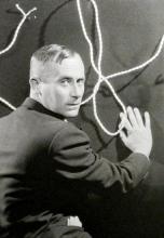 1930, Man Ray : Portrait de Joan Miró