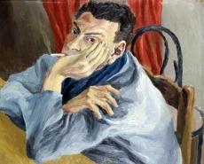 1936, Renato Guttuso : Autoportrait