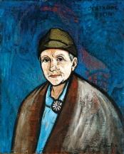 1933-37, Francis Picabia : Portrait de Gertrude Stein