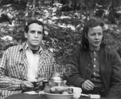 Philip Guston et sa femme à Woodstock, été 1940