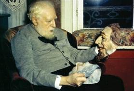 1947, James Ensor chez lui