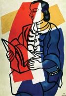 1949, Fernand Léger : Portrait de Nadia Khodossievitch-Léger