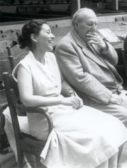 1953, Edmonde Charles-Roux et André Derain à Aix-en-Provence