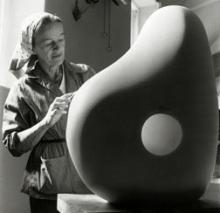 1958, Barbara Hepworth : Trewyn Studio, à St Ives