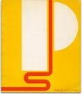 """1966, Elaine Lustig Cohen : Affiche pour """"Primary Structures, Les jeunes sculpteurs américains et britanniques"""", The Jewish Museum, NYC"""