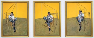1969, Francis bacon : Three Studies of Lucian Freud, vendu 142 millions de $ en 2013