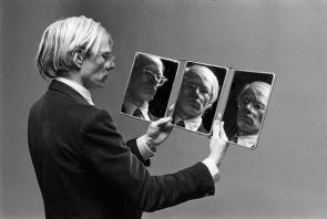 1977, Andy Warhol, photo de Philippe Morillon
