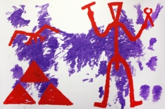 1981, A. R. Penck : Zeichen der Realität - Realität der Zeichen