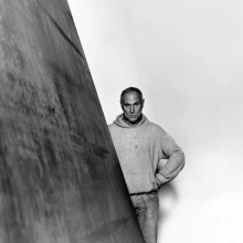 1987, Richard Serra, New York