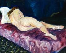 Charles Camoin : Jeune femme allongée