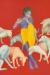1992, Manjit Bawa : Untitled (Krishna) - 480 000 $