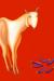1992, Manjit Bawa : Untitled (Goat with Aubergines)