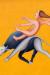 1993, Manjit Bawa : Untitled (figure riding a bull)