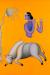 1998, Manjit Bawa : Untitled (Krishna and Cow) - 780 500 $ en 2017