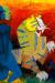 1958_Maqbool-Fida-Husain_Untitled-Blue-figure-and-tiger