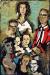 1960_M.-F.-Husain_Untitled-Keehn-Family-Portrait