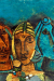 1963_Maqbool-Fida-Husain-Inde_Untitled-three-heads-Rajasthan
