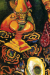 1910, Marc Chagall : Nature morteà la lampe