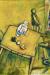 1911, Marc Chagall : La chambre jaune