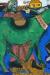 1911, Marc Chagall : L'âne vert