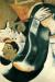 1911, Marc Chagall : Le Saint Cocher de fiacre