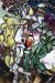 1912, Marc Chagall : Tentation (Adam et Ève)