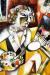 1914, Marc Chagall : Autoportrait aux sept doigts