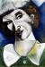 1914, Marc Chagall : Autoportrait