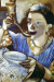 1915, Marc Chagall : Mania en mangeant Kasher