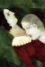 1917, Marc Chagall : Les amoureux en vert