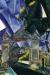 1917, Marc Chagall : Les portes du cimetière