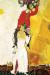 1918, Marc Chagall : Double portrait au verre de vin