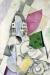 1916-19, Marc Chagall : Paysage cubiste
