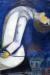 1919, Marc Chagall : L'homme à la tête renversée