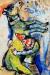 1927-28, Marc Chagall : Clown à l'âne