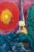 1929, Marc Chagall :  La Tour Eiffel