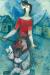 1930, Marc Chagall : L'ange et le lecteur