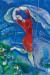 1937-38, Marc Chagall : L'Acrobate ou Le Trapeze