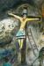 1938, Marc Chagall : Crucifixion