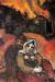 1940, Marc Chagall : Le village en feu