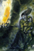1940, Marc Chagall : L'incendie dans la neige