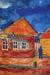 1940, Marc Chagall : Rue dans le village