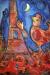 1942, Marc Chagall : Bonjour Paris