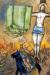1942, Marc Chagall : La Crucifixion Jaune