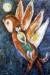 1946, Marc Chagall : L'Histoire de la sirène Dschulnar et de son fils le roi de Perse Badr Basim, lithogrphie